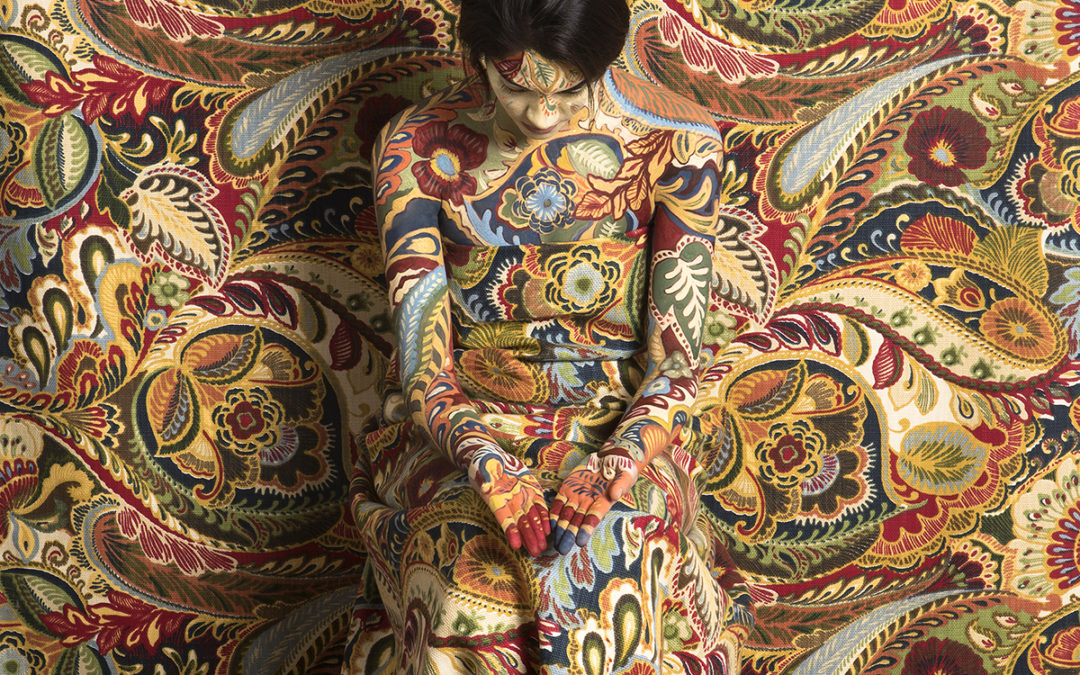 Patterned Self-Portraits